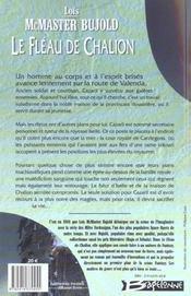 Chalion t01 le fleau de chalion - 4ème de couverture - Format classique