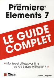 Vente livre :  Premiere elements 7  - Chopinet-F