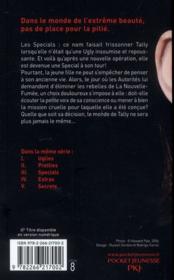 Uglies t.3 ; specials - 4ème de couverture - Format classique
