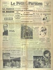 Petit Parisien Edition De Paris (Le) du 15/02/1941 - Couverture - Format classique