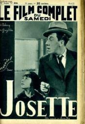 Le Film Complet Du Samedi N° 1936 - 16e Annee - Josette - Couverture - Format classique