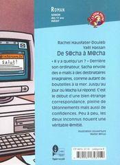 De Sacha A Macha - 4ème de couverture - Format classique