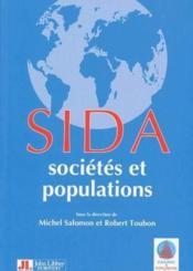 Sida ; sociétés et populations - Couverture - Format classique