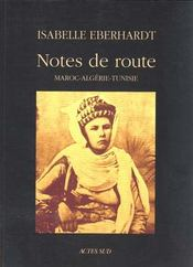 Notes de route - Intérieur - Format classique