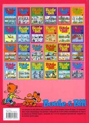Boule & Bill T.5 - 4ème de couverture - Format classique