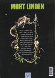 Mort Linden T.2 ; Ceux Des Montagnes - 4ème de couverture - Format classique