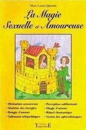 Magie Sexuelle Et Amoureuse - Couverture - Format classique