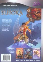 Slhoka t.1 ; l'île oubliée - 4ème de couverture - Format classique