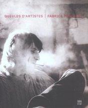 Gueules D'Artistes - Intérieur - Format classique