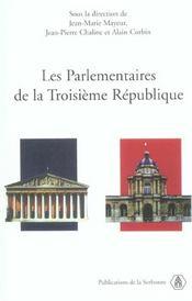 Parlementaires De La Troisieme Republique - Intérieur - Format classique
