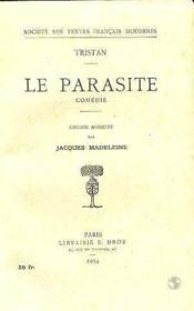Le Parasite - Couverture - Format classique