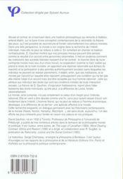 Morale et contrat ; recherche sur les fondements de la morale - 4ème de couverture - Format classique