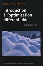 Introduction à l'optimisation différentiable - Intérieur - Format classique