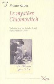 Le mystère chlomovitch - Intérieur - Format classique