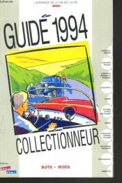 Guide du collectionneur auto-moto - Couverture - Format classique