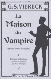 La maison du vampire - Couverture - Format classique