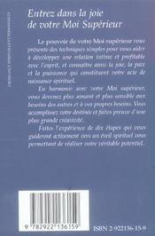 Le Pouvoir De Votre Moi Superieur - 4ème de couverture - Format classique