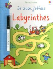 Je Trace, J'Efface ; Labyrinthes - Couverture - Format classique