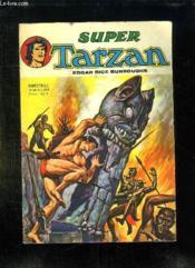 Super Tarzan N° 20. La Valle Du Sepulcre. - Couverture - Format classique
