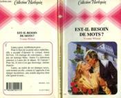 Est-Il Besoin De Mots ? - Season Of Shadows - Couverture - Format classique