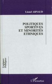 Politiques Sportives Et Minorites Ethniques - Intérieur - Format classique