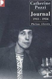 Journal, 1913-1914 - Couverture - Format classique