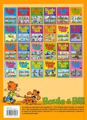 Boule & Bill t.6 - 4ème de couverture - Format classique