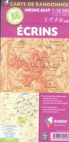 Ecrins 1/50.000 - 4ème de couverture - Format classique