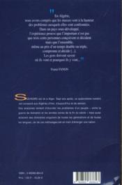 Sud/Nord 14 - Algeries - 4ème de couverture - Format classique