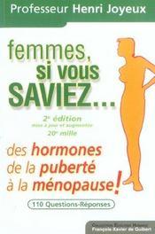 Femmes Si Vous Saviez - Intérieur - Format classique
