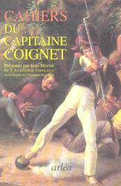 Les Cahiers Du Capitaine Coignet - Intérieur - Format classique