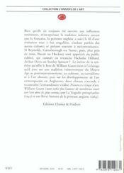 La Peinture Anglaise 1260-1960 - 4ème de couverture - Format classique
