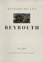 Beyrouth - Couverture - Format classique