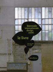Biennale internationale design 2006 ; le livre - Intérieur - Format classique