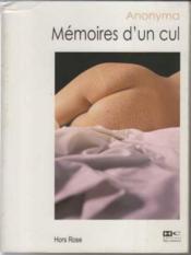 Memoires d'un cul - Couverture - Format classique