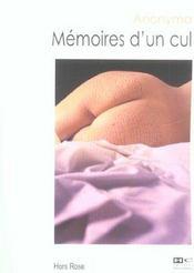 Memoires d'un cul - Intérieur - Format classique