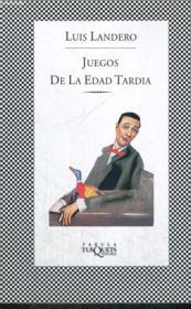 Juego De La Edad Tardia - Couverture - Format classique