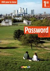 Vente livre :  Password english 1re - dvd classe  - Abgrall Yannick