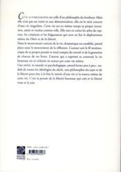 Le nacre et le rocher ; une autobiographie - 4ème de couverture - Format classique