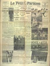 Petit Parisien Edition De Paris (Le) du 17/02/1941 - Couverture - Format classique