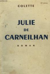 Julie De Carneilhan. - Couverture - Format classique