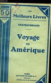 Voyage En Amerique - Couverture - Format classique