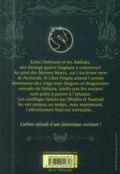 Les dragons de Nalsara t.20 ; sous le vent de Norlande - 4ème de couverture - Format classique