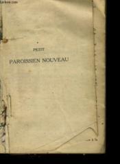 Petit Paroissien Nouveau - Couverture - Format classique