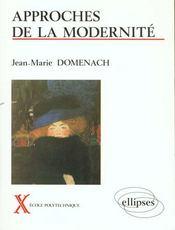 Approches De La Modernite Ecole Polytechnique - Intérieur - Format classique
