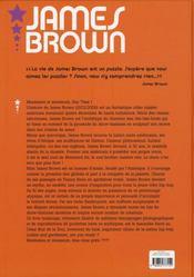 James Brown - 4ème de couverture - Format classique