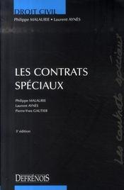 Droit civil ; les contrats speciaux (3e édition) - Intérieur - Format classique