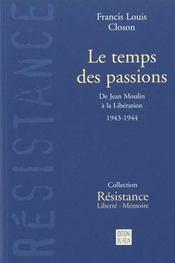 Le Temps Des Passions - Intérieur - Format classique