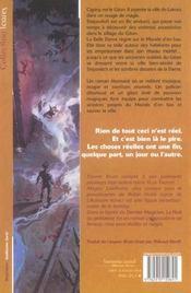 Nuit Du Predateur (La) - 4ème de couverture - Format classique