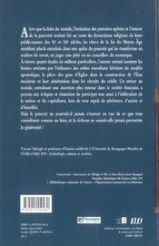 Gens D'Eglise, Gens De Pouvoir. France Xiii-Xv Siecle - 4ème de couverture - Format classique